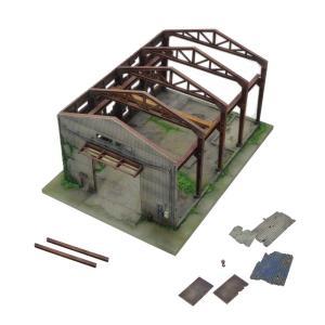 建物コレクション156 廃墟 :トミーテック 塗装済みキット N(1/150) 286523 sakatsu