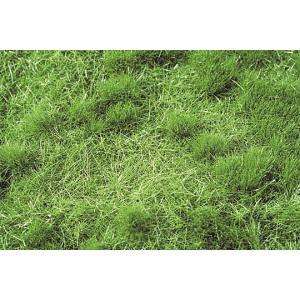 茂みのある牧草地 夏の盛り :ミニネイチャー 素材 ノンスケール 713-22|sakatsu