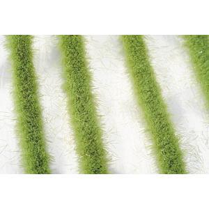道沿いの芝草‐萌える春 :ミニネイチャー 素材 ノンスケール 718-21|sakatsu