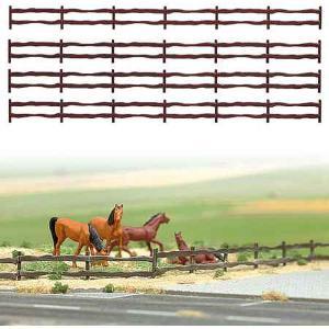 牧場フェンス :ブッシュ 未塗装キット HO(1/87) 6008 sakatsu