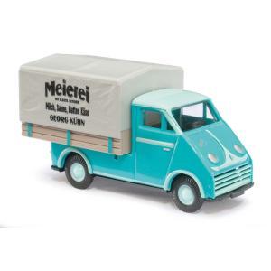 DKW ミルク・デリバリートラック:ブッシュ 塗装済完成品 HO(1/87) 40917|sakatsu