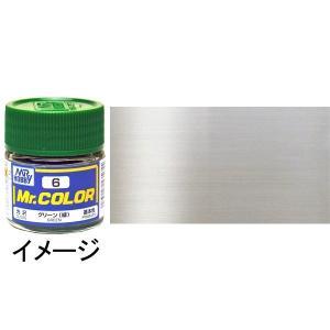 ミスターカラー シルバー(銀) 基本色 :クレオス メタリック塗料 ノンスケール C8|sakatsu