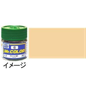 ミスターカラー 薄茶色(フレッシュ)   人形ほか・基本色 :クレオス 半光沢塗料 ノンスケール C51|sakatsu