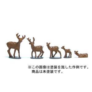 鹿セット :YSK 未塗装キット N(1/150) 品番298 sakatsu