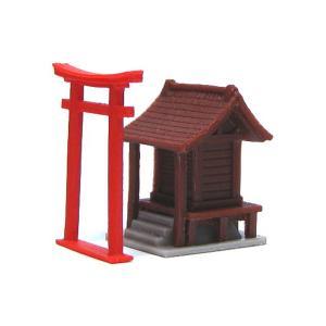 大きな祠 :YSK 未塗装キット N(1/150) 品番314 sakatsu