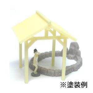 露天風呂 :YSK 未塗装キット N(1/150) 品番318 sakatsu