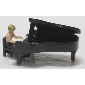 グランドピアノ :YSK 未塗装キット N(1/150) 品番399 sakatsu