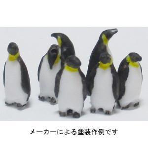 ペンギン素材A(立ち) :YSK 未塗装キット 1/100 スケール 品番401 sakatsu