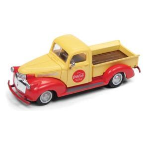 1941〜46年型 シボレー ピックアップトラック/コカ・コーラ仕様 :ミニメタル 完成品 HO(1/87) 30515|sakatsu