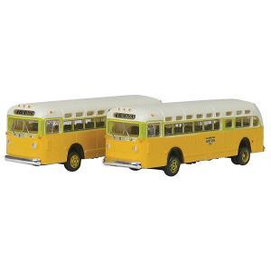 GMC TD 3610 トランジットバス ロサンゼルス 2台入り :ミニメタル 完成品 N(1/160) 52303|sakatsu