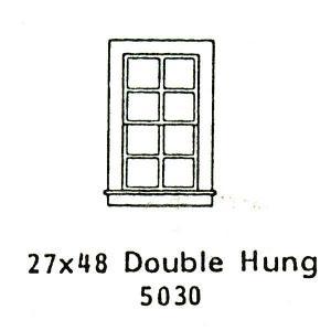 洋風窓 窓枠 :グラントライン 未塗装キット(部品) HO(1/87) 5030 sakatsu