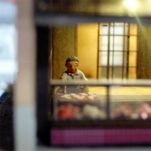 昭和紀行ゴールドシリーズ 「煎餅屋」 :さかつう 未塗装キット HO(1/87) 0501|sakatsu|04