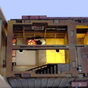 昭和紀行ゴールドシリーズ 「煎餅屋」 :さかつう 未塗装キット HO(1/87) 0501|sakatsu|05