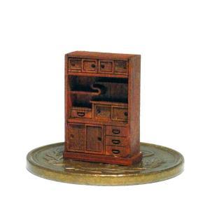 茶箪笥(ちゃだんす)キット :さかつう 未塗装キット HO(1/87) 1405|sakatsu