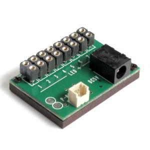常時点灯 基本基板 (コネクタ付LEDライト用 8個取付け可能) :さかつう 素材 2570|sakatsu