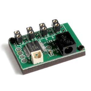 ゆらゆら点灯 基本基板 (コネクタ付LEDライト用 4個取付け可能) :さかつう 素材 2572|sakatsu