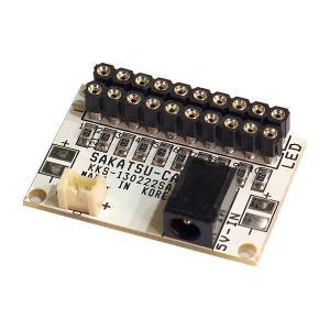常時点灯10 基本基板(コネクタ付LED用 10灯取付け可能) :さかつう 電子部品 2574 sakatsu
