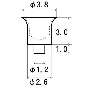 エアファンネル 2.6-3.0 4個入り:さかつう ディテールアップ 1/24 3210|sakatsu