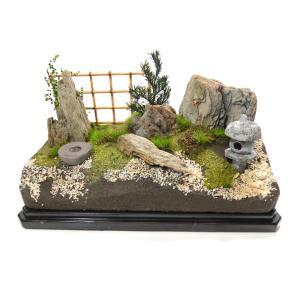 ジオラマキット 日本庭園 :さかつうギャラリー 初心者向け製作キット 入門用 3601|sakatsu