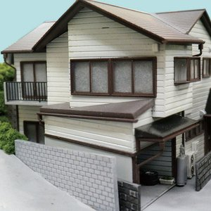 【模型】 ドアと窓(近代風) ※こばる同等品 :さかつう 未塗装キット N(1/150) 3730|sakatsu