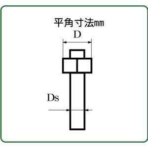 六角ボルト/ナット 平径0.8mm :さかつう ディテールアップ ノンスケール 4491|sakatsu
