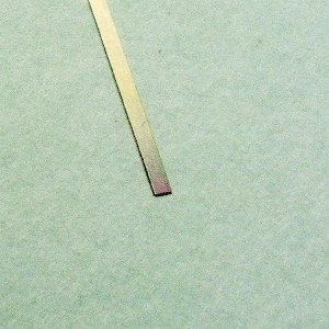 洋白 帯材 【 厚さ 0.2mm / 幅 0.5mm、0.8mm、1.0mm 】各1枚入り :さかつう 素材 品番4643|sakatsu