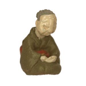 さかつう人形シリーズまなべコレクション 居眠りおばあちゃん :さかつう 塗装済完成品 HO(1/87) 7502 sakatsu