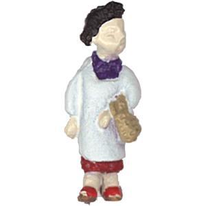 さかつう人形シリーズまなべコレクション ケン坊のお母さん :さかつう 塗装済完成品 HO(1/87) 7505|sakatsu
