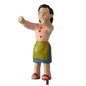 さかつう人形シリーズまなべコレクション 洗濯物を干す女性 :さかつう 塗装済完成品 HO(1/87) 7508|sakatsu