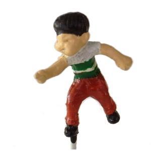 さかつう人形シリーズまなべコレクション ベーゴマ少年A :さかつう 塗装済完成品 HO(1/87) 7512|sakatsu