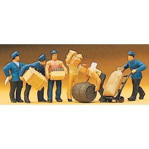 配達人と荷物 :プライザー 塗装済完成品 HO(1/87) 10016|sakatsu