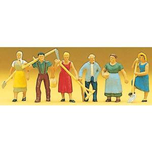 農家の人々(ヨーロッパ) :プライザー 塗装済完成品 HO(1/87) 10040|sakatsu