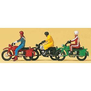 オートバイとライダー :プライザー 塗装済完成品 HO(1/87) 10081|sakatsu