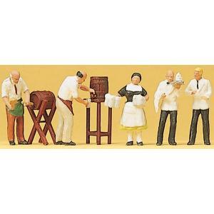 飲み屋の従業員 :プライザー 塗装済完成品 HO(1/87) 10210|sakatsu
