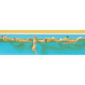 水泳中の人々 :プライザー 塗装済完成品 HO(1/87) 10306|sakatsu