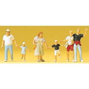 通行人、子供連れとカップル :プライザー 塗装済完成品 HO(1/87) 10326|sakatsu