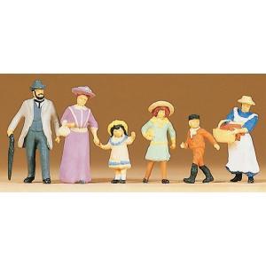 古い時代の家族 :プライザー 塗装済完成品 HO(1/87) 12132|sakatsu