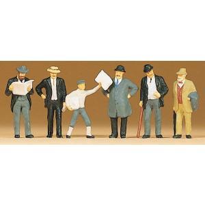 古い時代のプラットホームの人々 :プライザー 塗装済完成品 HO(1/87) 12133|sakatsu