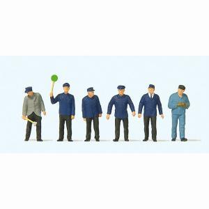 古い時代(エポック時代)の鉄道職員 :プライザー 塗装済完成品 HO(1/87) 14118|sakatsu
