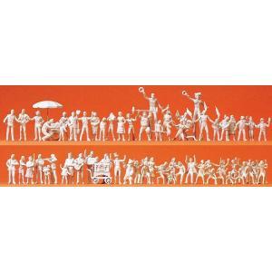 フェスティバルを楽しむ人々 :プライザー キット HO(1/87) 16342|sakatsu