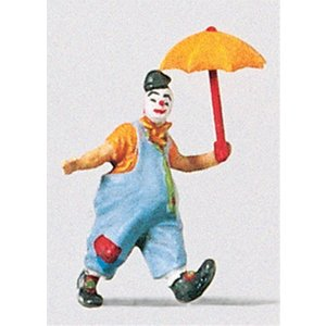 傘を持ったピエロ :プライザー 塗装済完成品 HO(1/87) 29001 sakatsu