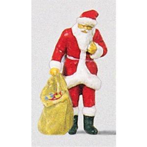 プレゼントを見るサンタクロース :プライザー 塗装済完成品 HO(1/87) 29027|sakatsu