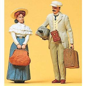 旅行中のカップル :プライザー 塗装済完成品 1/22.5 45052|sakatsu