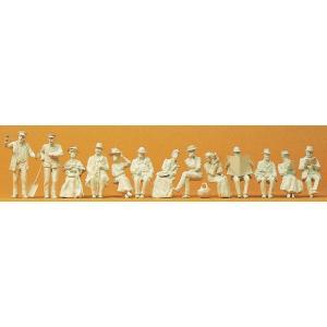 古い時代の人々13人 :プライザー キット 1/32 63032|sakatsu