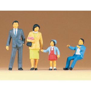 日本人の家族連れ :プライザー 塗装済完成品 1/43 65301 sakatsu