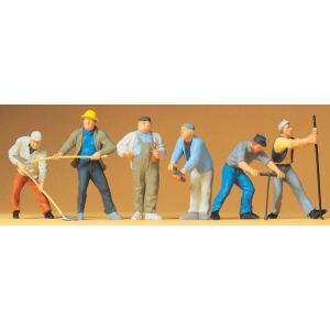 建設作業員 :プライザー 塗装済完成品 1/43 65331 sakatsu