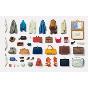 スーツケースとカバン、バッグ、コート :プライザー キット 1/43 65811 sakatsu