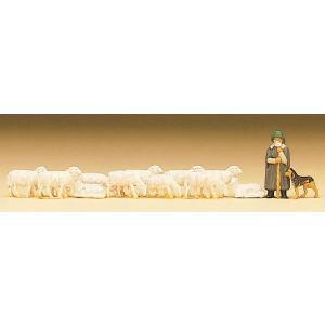 羊飼いと羊と犬 :プライザー 塗装済完成品 N(1/160) 79160|sakatsu