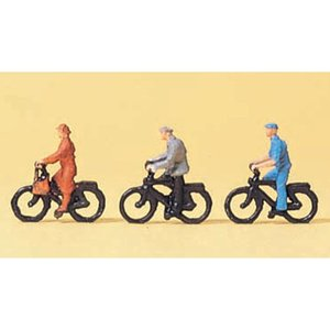 自転車に乗っている人 :プライザー 塗装済完成品 1/200 80911 sakatsu