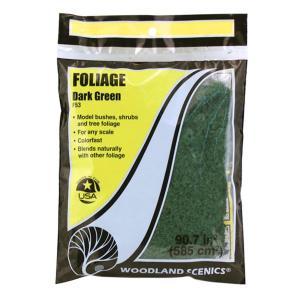 スポンジ系素材 【フォーリッジ】 ダーク・グリーン(深緑) :ウッドランド 素材 ノンスケール F53|sakatsu